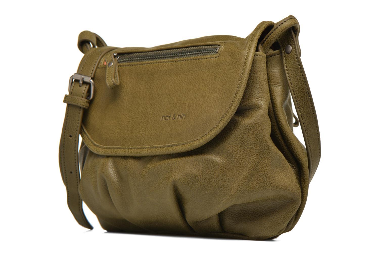 Handtaschen Nat & Nin Jen grün schuhe getragen