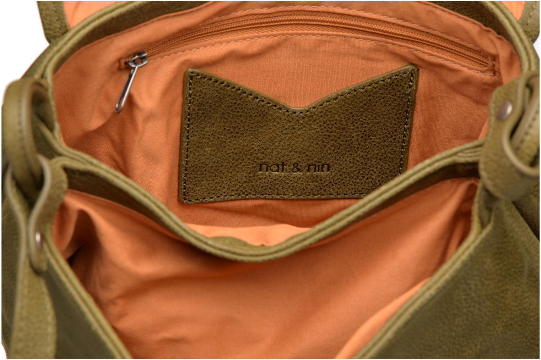 Handtaschen Nat & Nin Jen grün ansicht von hinten