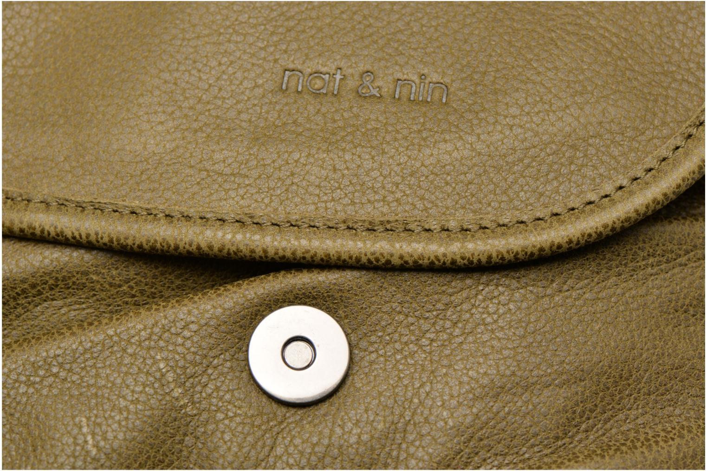 Handtaschen Nat & Nin Jen grün ansicht von links