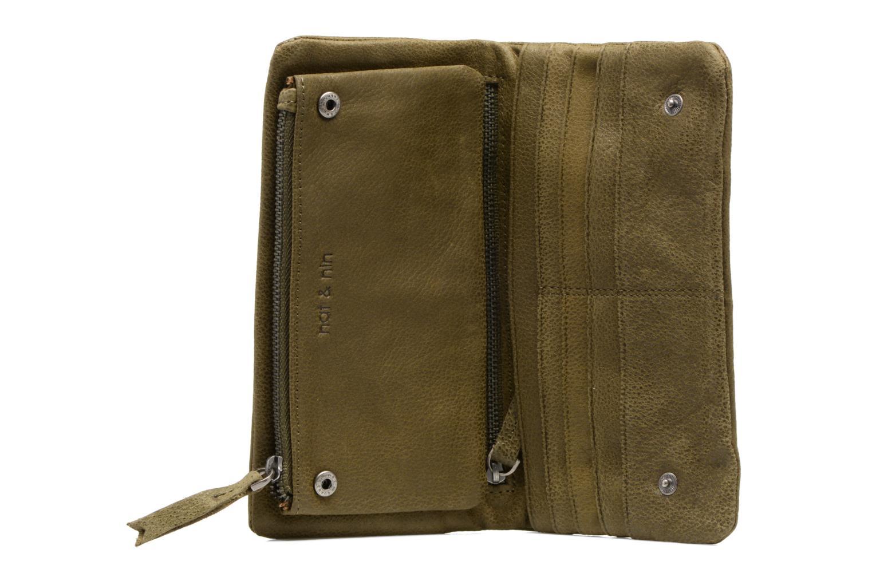 Portemonnaies & Clutches Nat & Nin Ally grün ansicht von hinten