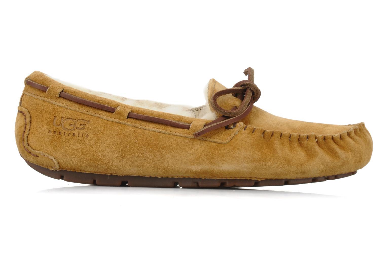 Loafers UGG Dakota Beige back view