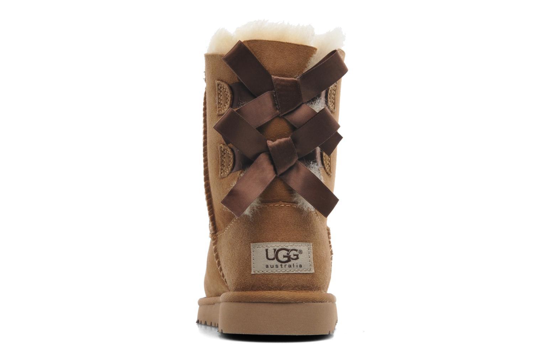 Stiefel UGG Bailey bow braun ansicht von rechts