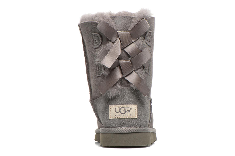 Laarzen UGG Bailey bow Grijs rechts