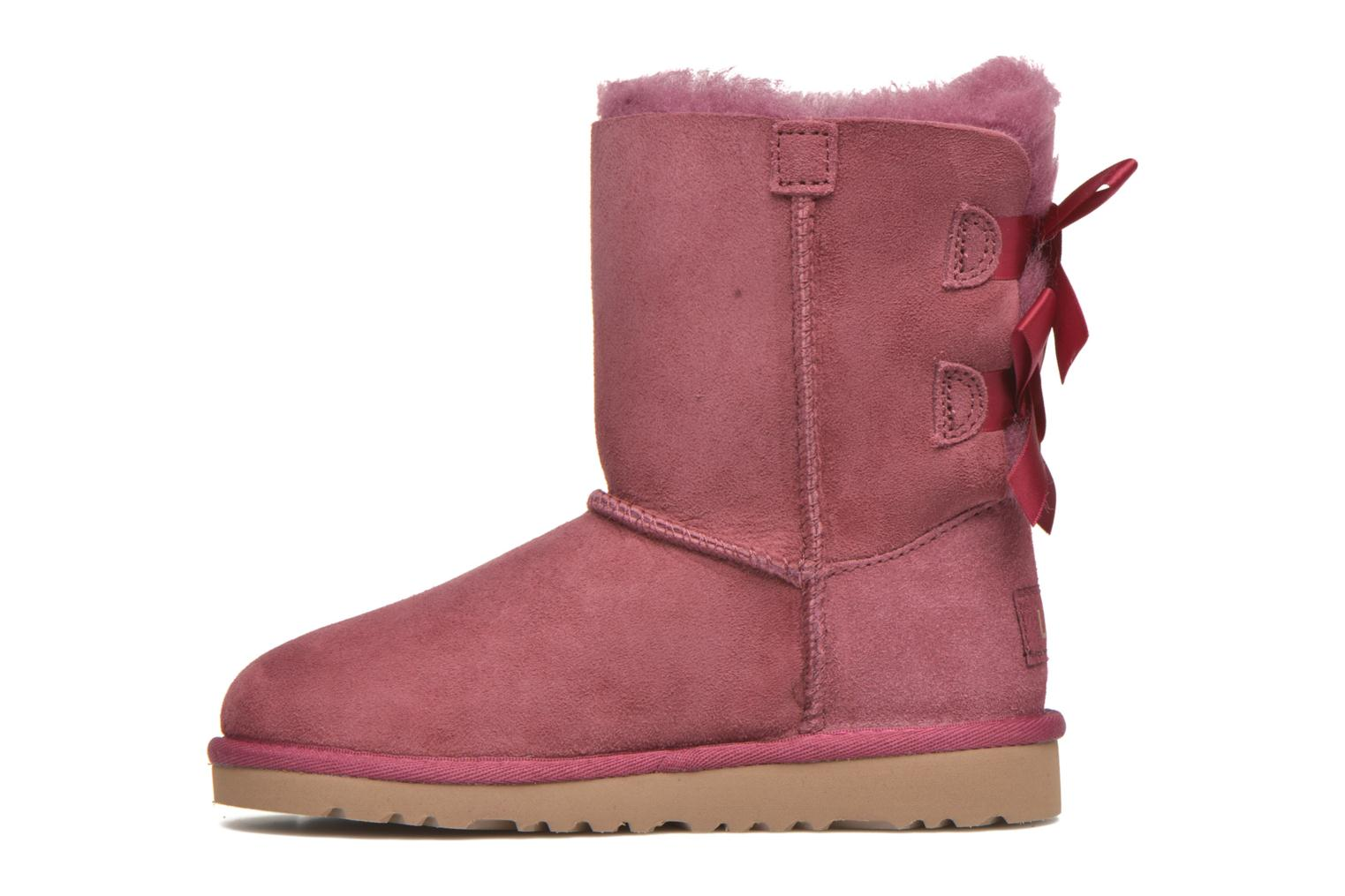 Bottes UGG Bailey bow Rose vue face