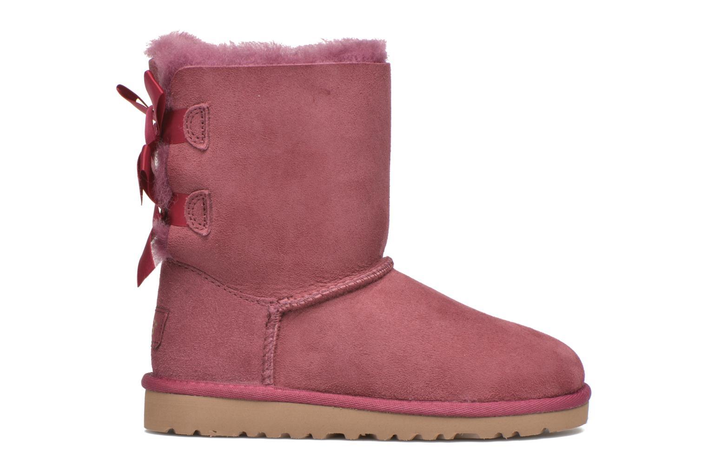 Laarzen UGG Bailey bow Roze achterkant