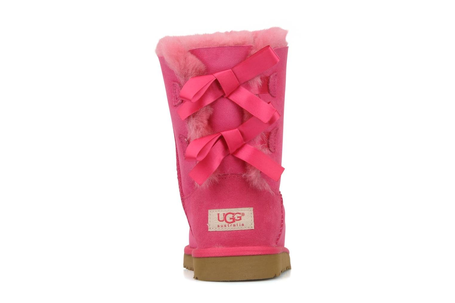 Bottes UGG Bailey bow Rose vue droite