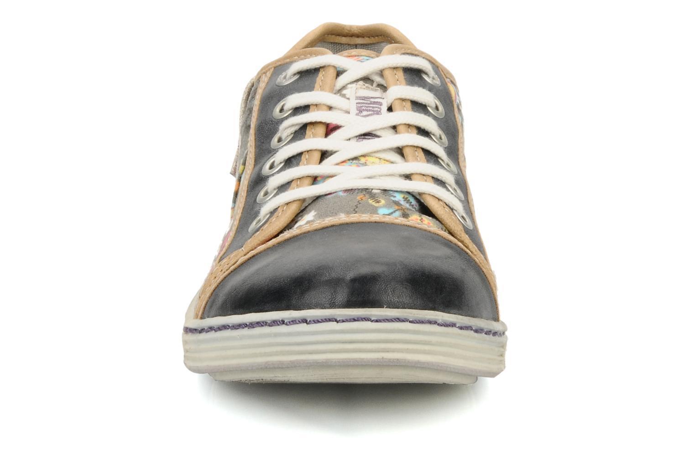 Baskets Mustang shoes Tornada Multicolore vue portées chaussures