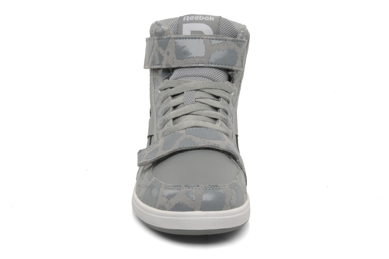 Sh court mid Flat Grey-White