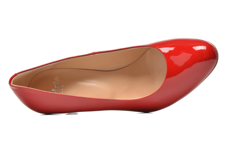 Zapatos de tacón Perlato Cid Rojo vista lateral izquierda
