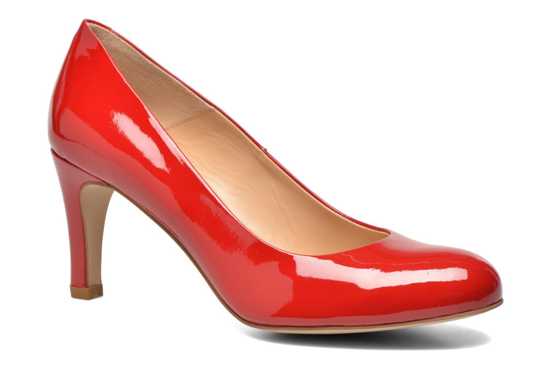 Escarpins Perlato Cid Rouge vue détail/paire