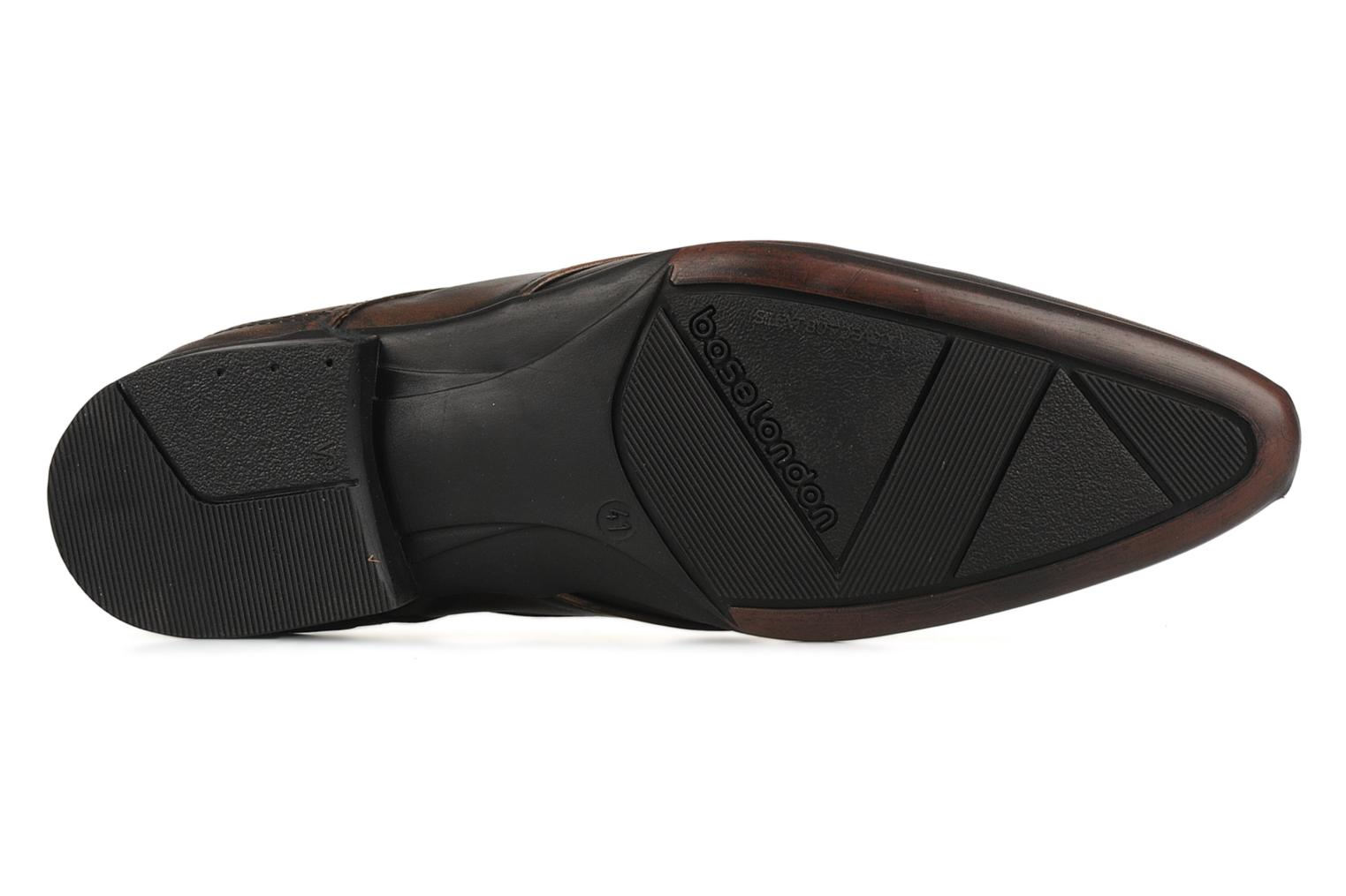 Lace-up shoes Base London Aspect Brown view from above