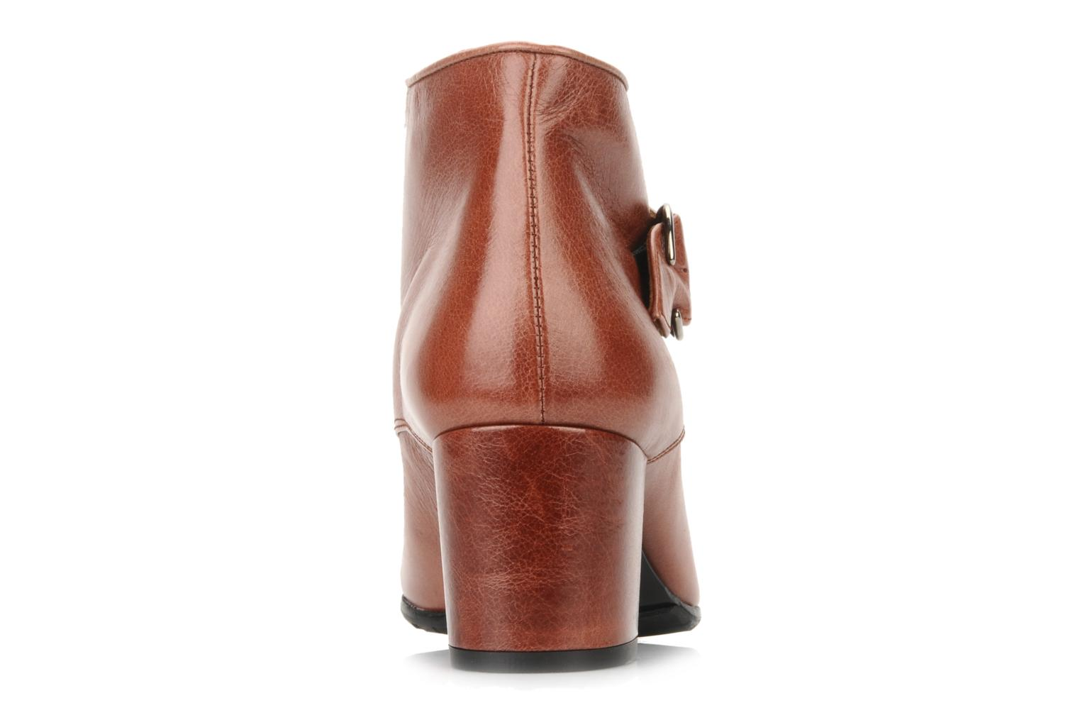 Ankle boots Maloles Anette Brown view from the right