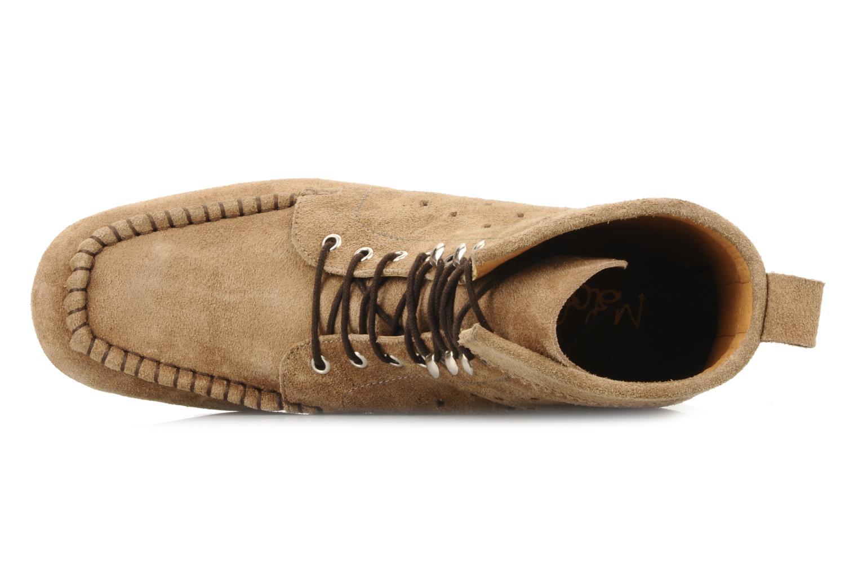 Stiefeletten & Boots Maloles Joyce beige ansicht von links