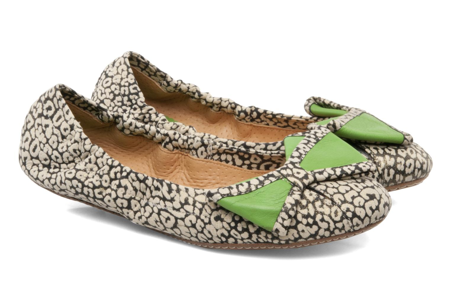 Blanche Leo Pard Black / Leather Grass