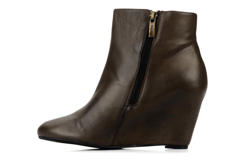 Bottines et boots Bocage Donuzo Marron vue face