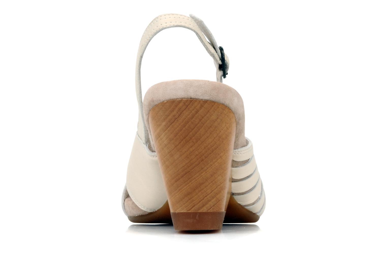 Sandalen Camper Rachael beige ansicht von rechts