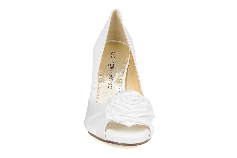 Escarpins Georgia Rose Yajane Blanc vue portées chaussures