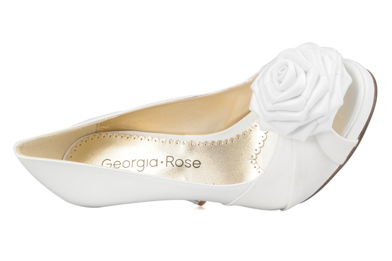 Escarpins Georgia Rose Yajane Blanc vue gauche