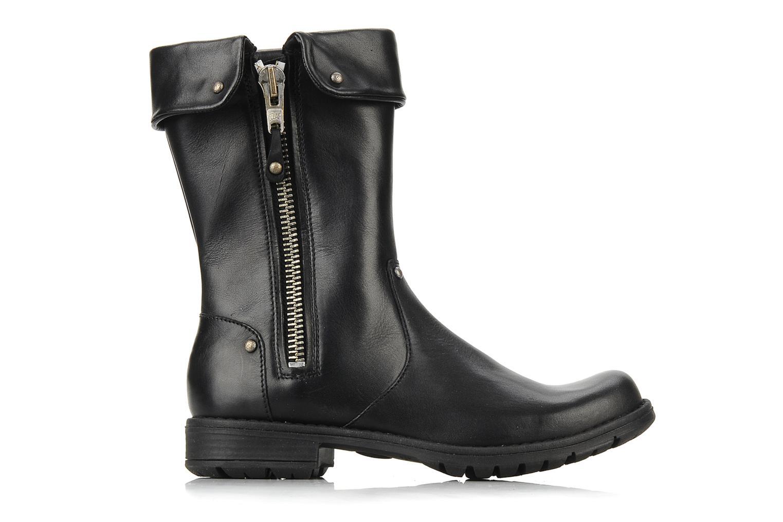 Boots & wellies Pom d Api Lina zip reverse Black back view