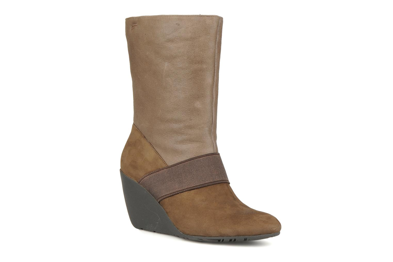 Ankle boots Camper Nancy 46331 Brown detailed view/ Pair view