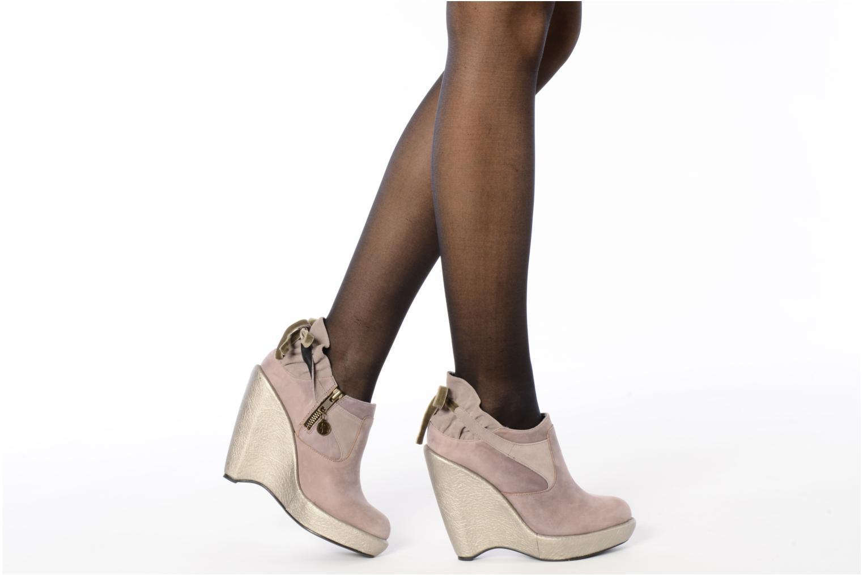 Bottines et boots Feud Brit Rose vue bas / vue portée sac