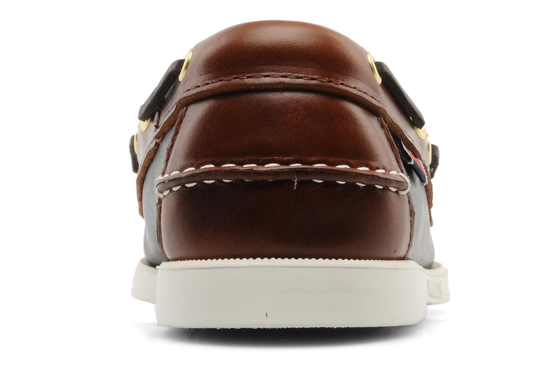 Chaussures à lacets Sebago Spinnaker M Noir vue droite