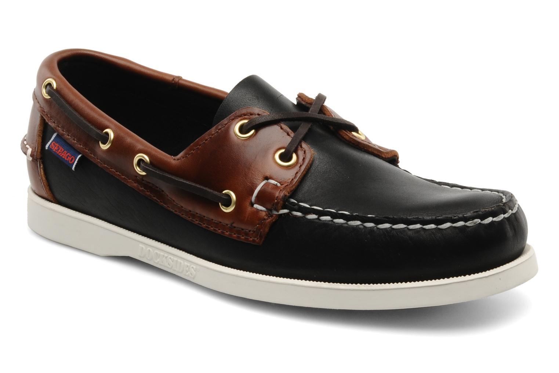 Chaussures à lacets Sebago Spinnaker M Noir vue détail/paire