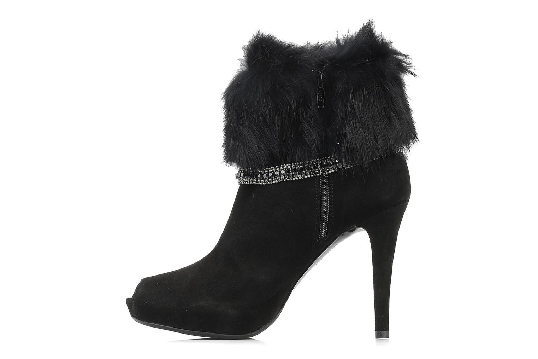 Ankle boots Barachini Serpiento Black front view