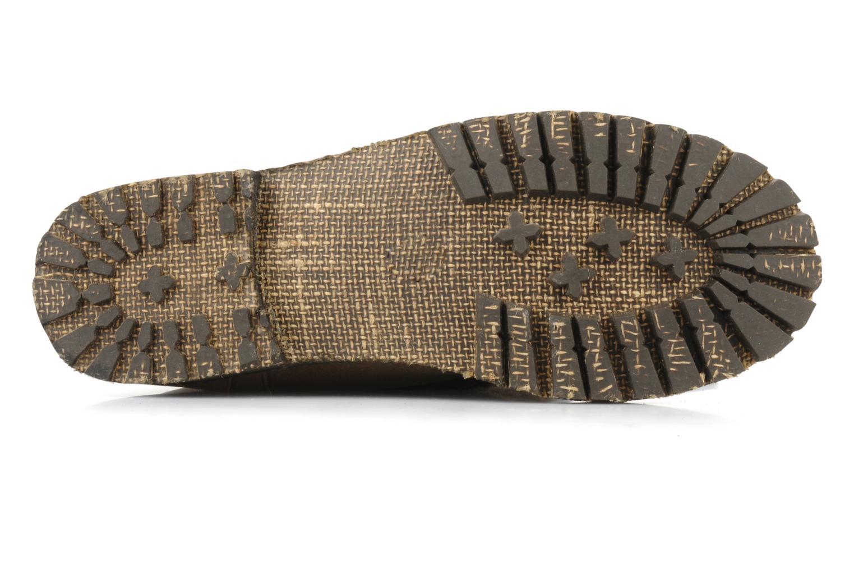 Stiefel Chocolate Schubar Abrania braun ansicht von oben