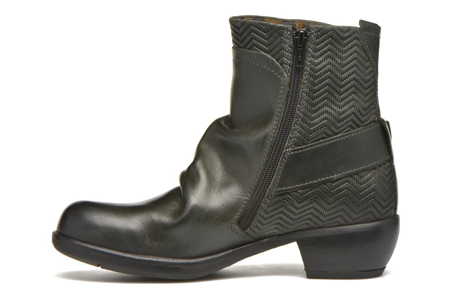 Ankle boots Fly London Mel Black front view