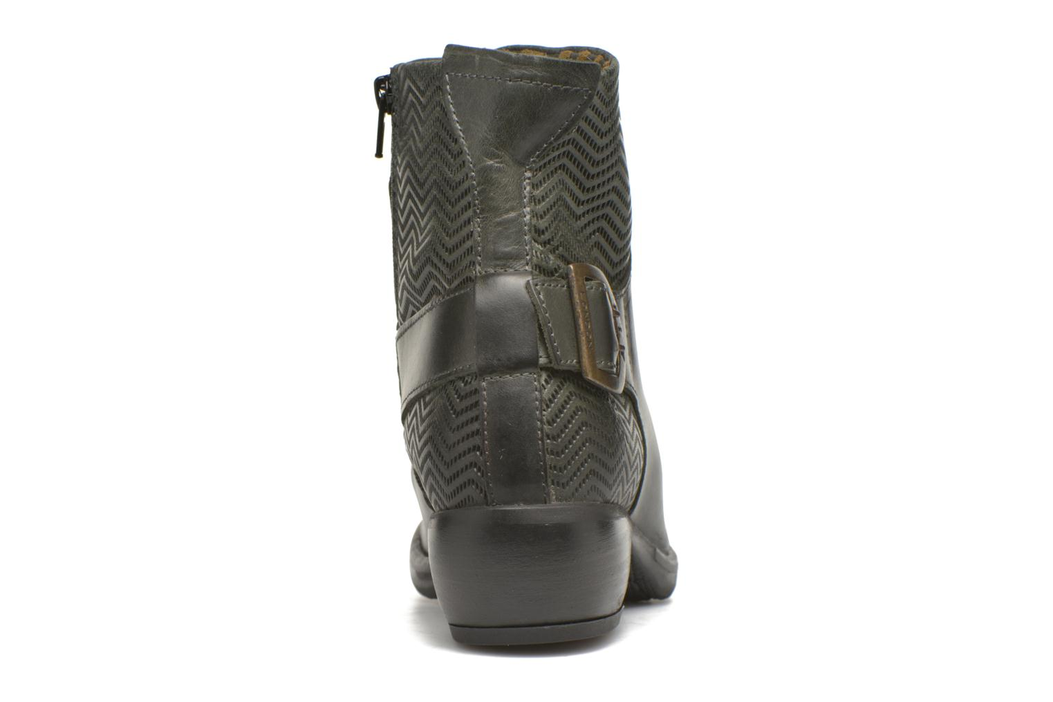 Ankle boots Fly London Mel Black view from the right