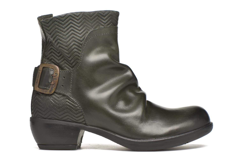 Boots en enkellaarsjes Fly London Mel Zwart achterkant