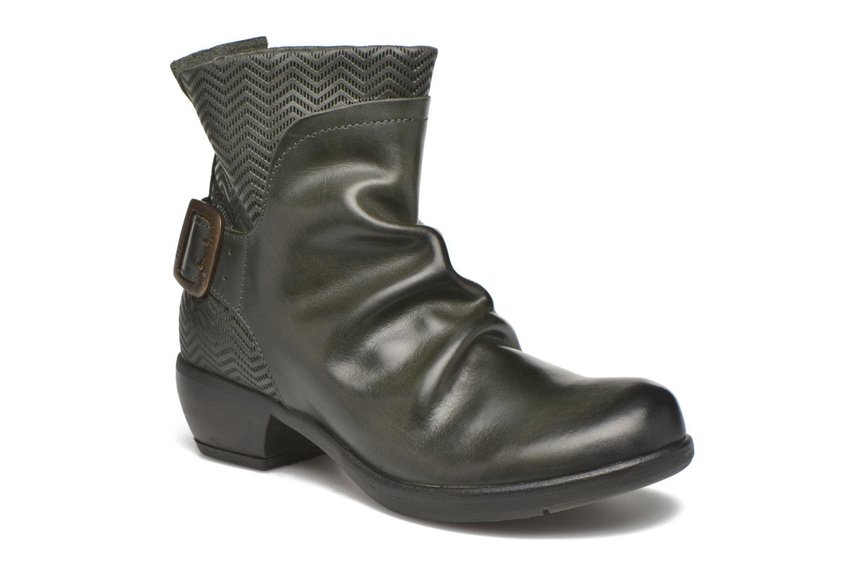Boots en enkellaarsjes Fly London Mel Zwart detail