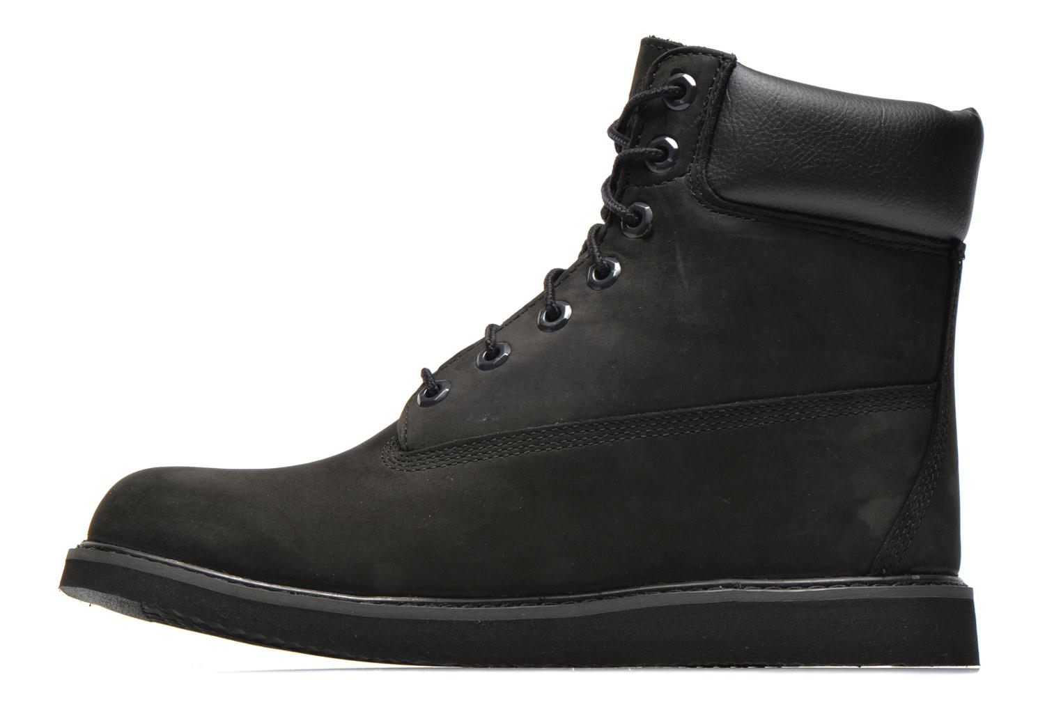 Bottines et boots Timberland 6 in wedge Noir vue face
