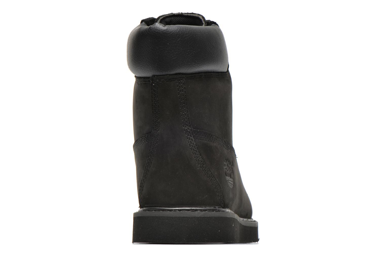 Boots en enkellaarsjes Timberland 6 in wedge Zwart rechts