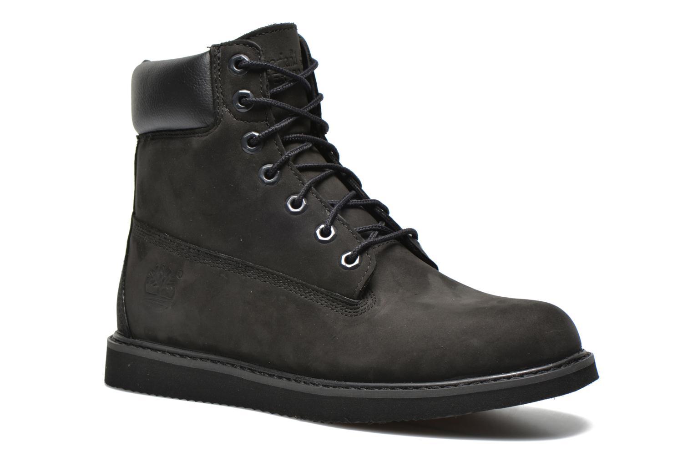 Bottines et boots Timberland 6 in wedge Noir vue détail/paire