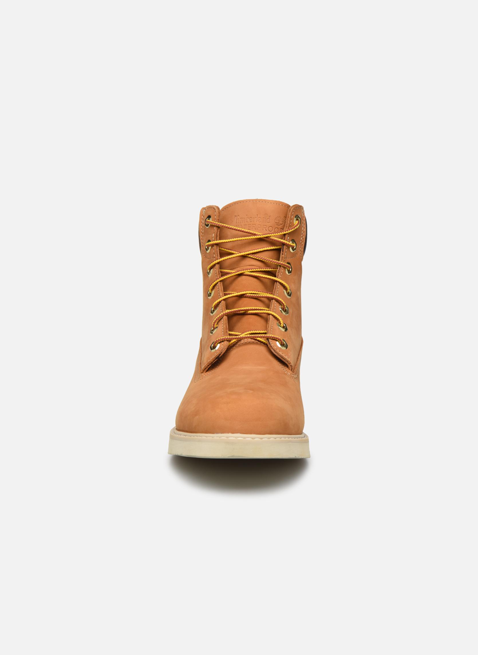 Boots en enkellaarsjes Timberland 6 in wedge Bruin model