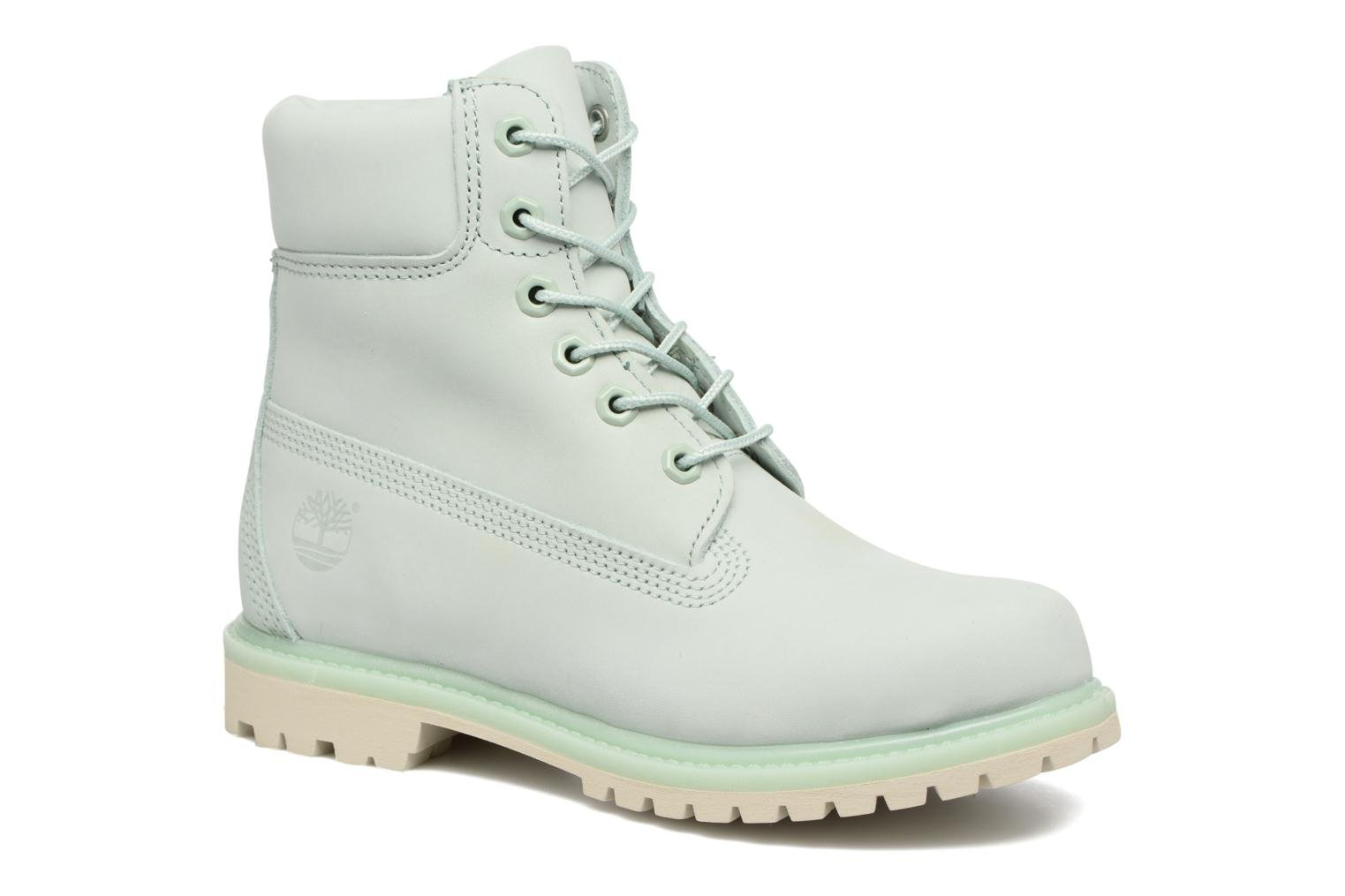 Bottines et boots Timberland 6 in premium boot w Vert vue détail/paire