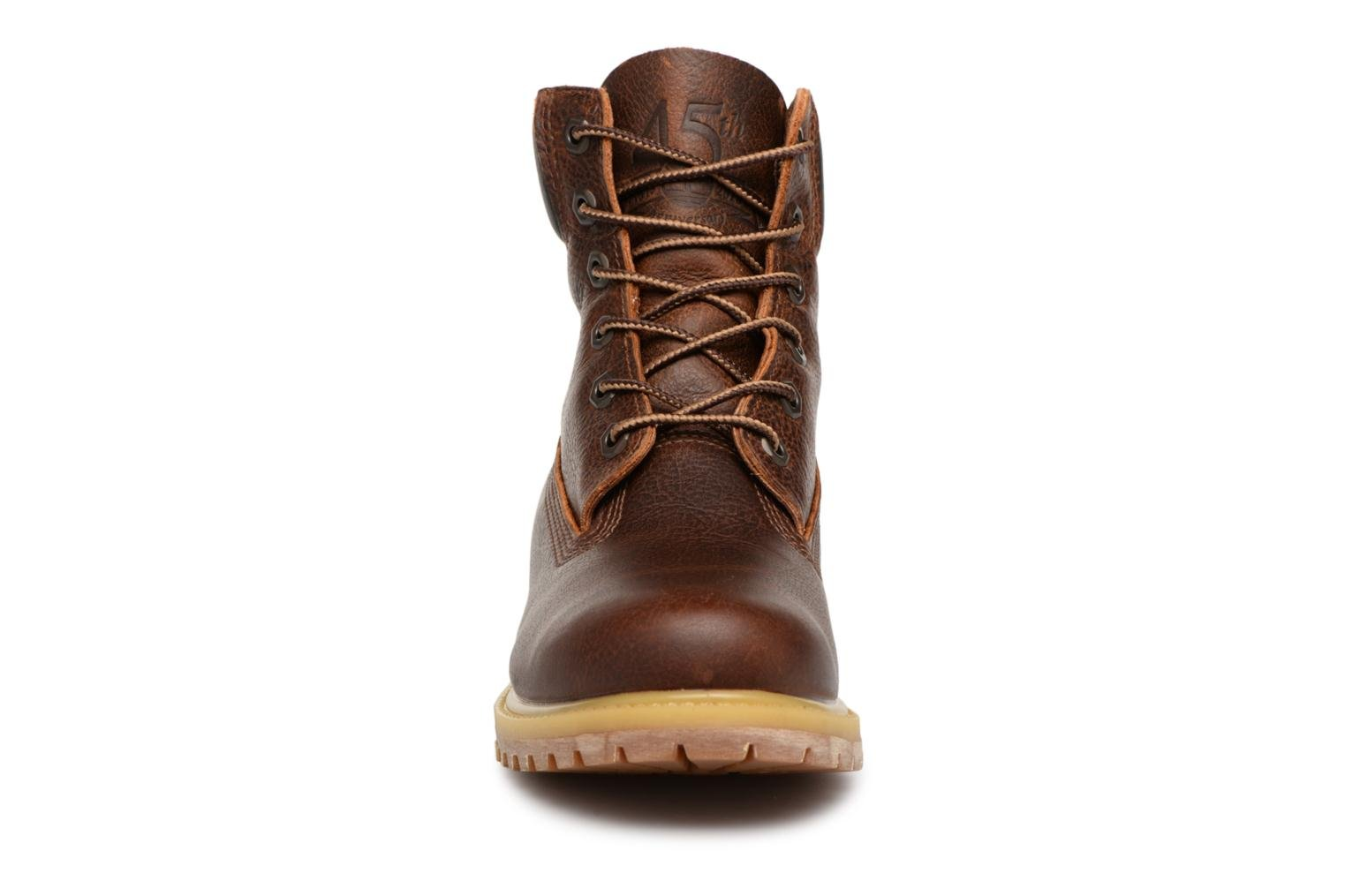 Bottines et boots Timberland 6 in premium boot w Marron vue portées chaussures