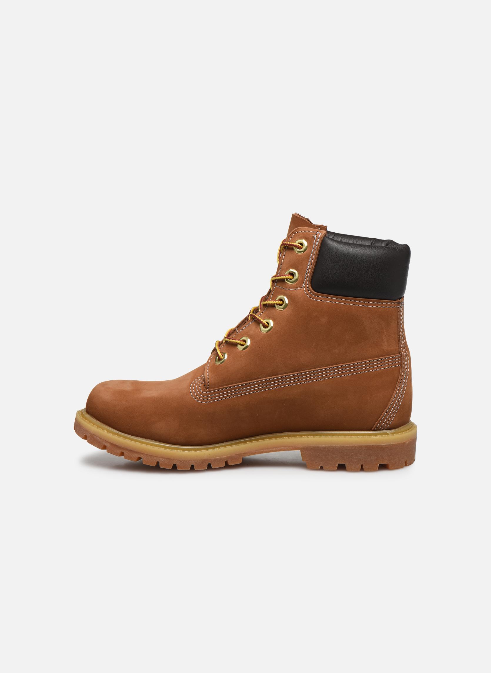 Bottines et boots Timberland 6 in premium boot w Beige vue face