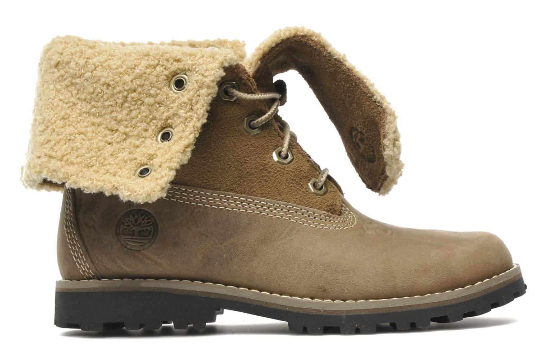 Bottines et boots Timberland 6 In Waterproof Shearling Boot Beige vue derrière
