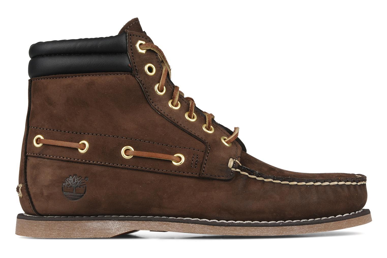 Boots en enkellaarsjes Timberland 7 eye chukka Bruin achterkant