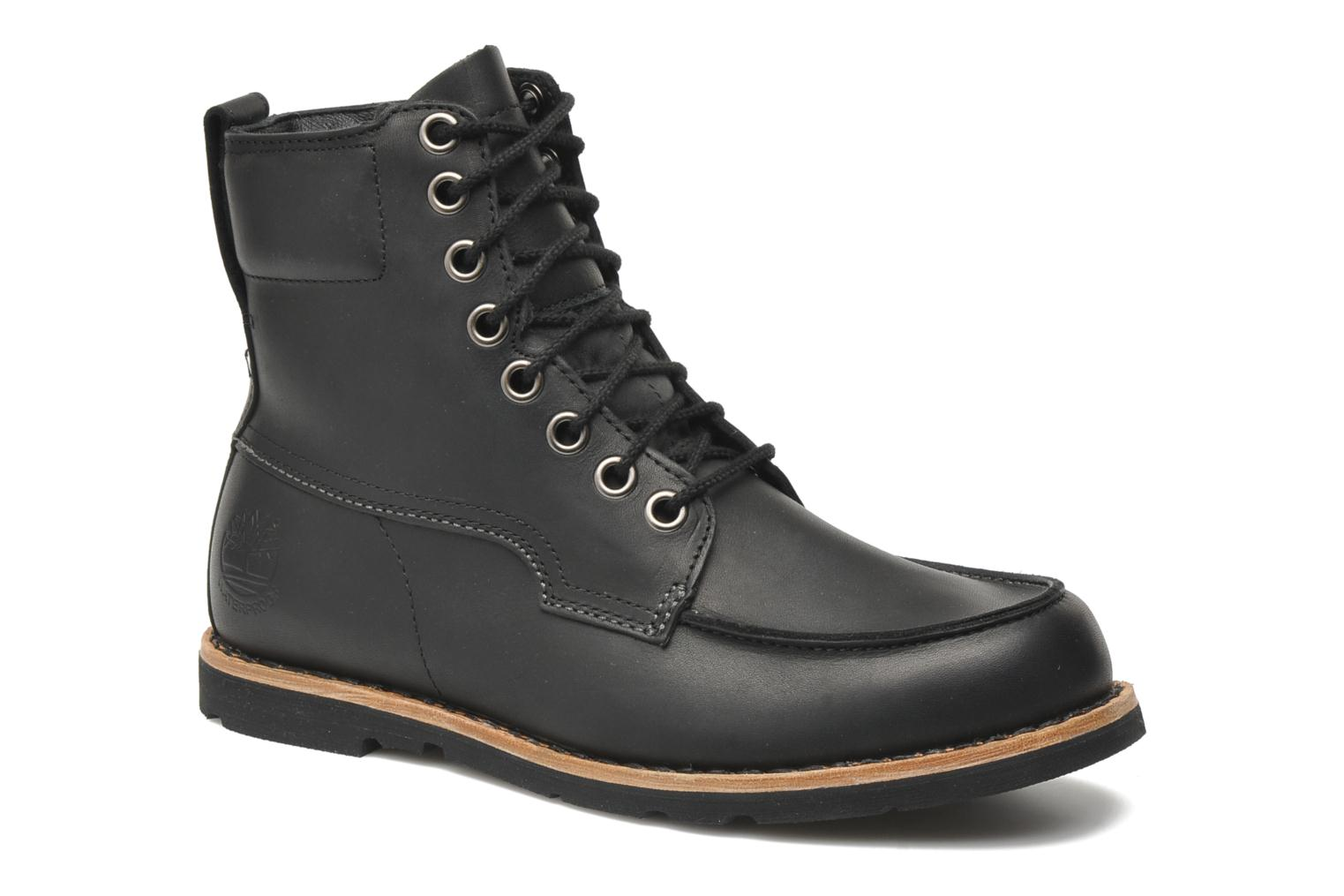 Earthkeepers original 2.0 rugged 6 moc toe boot Black Oiled