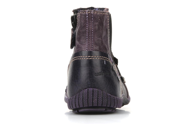 Stiefeletten & Boots Catimini Cati a24 lila ansicht von rechts