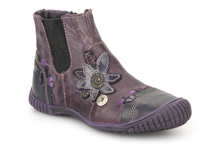 Bottines et boots Catimini Cati a24 Violet vue détail/paire