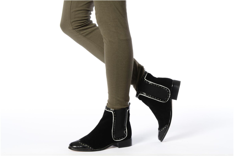 Boots en enkellaarsjes C.Petula Thelma Zwart onder