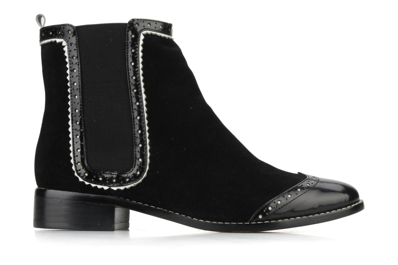 Boots en enkellaarsjes C.Petula Thelma Zwart achterkant
