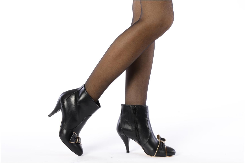 Bottines et boots C.Petula Olga Noir vue bas / vue portée sac
