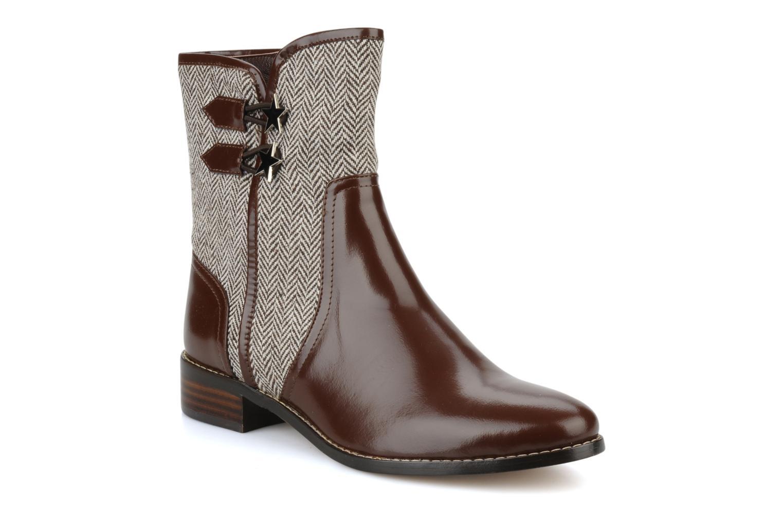 Bottines et boots C.Petula Janette Marron vue détail/paire