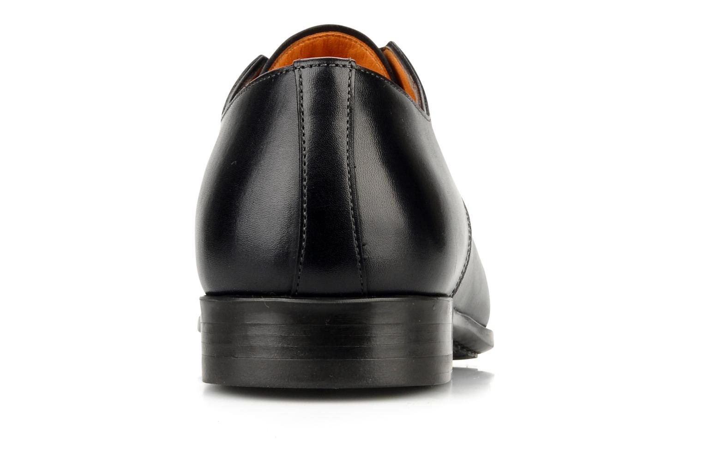 Schnürschuhe Santoni Marlone 11020 schwarz ansicht von rechts